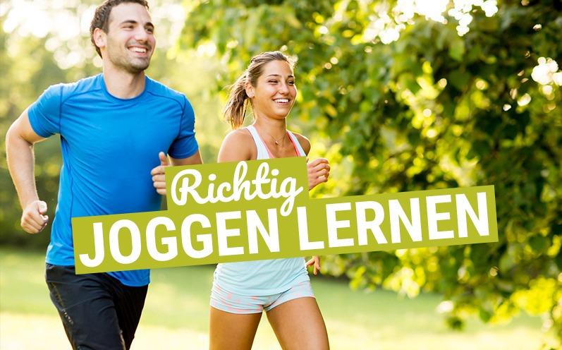 Joggen lernen: Richtig laufen lernen für Einsteiger