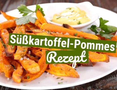 Süßkartoffel-Pommes Rezept – So einfach geht's!