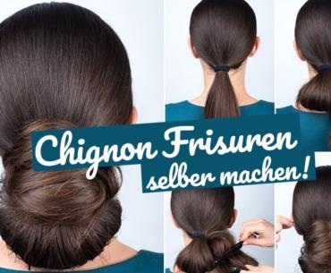 Chignon Frisuren Einfach Haare Hochstecken Beauty The Impish Ink