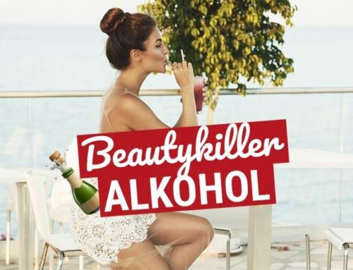 Beautykiller Alkohol: Das passiert mit Deiner Haut!