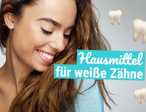 WOW! Diese Hausmittel zaubern weiße Zähne