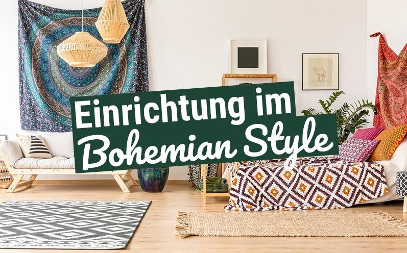 Einrichtung im Bohemian Style
