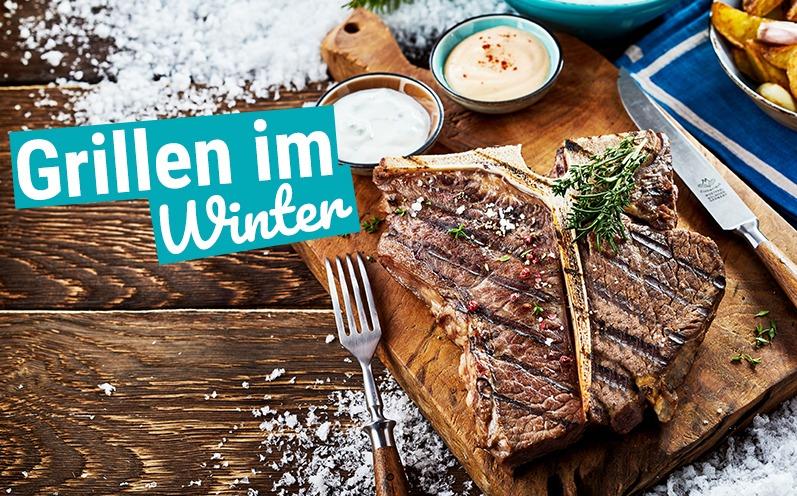 So lecker kann Grillen im Winter sein!