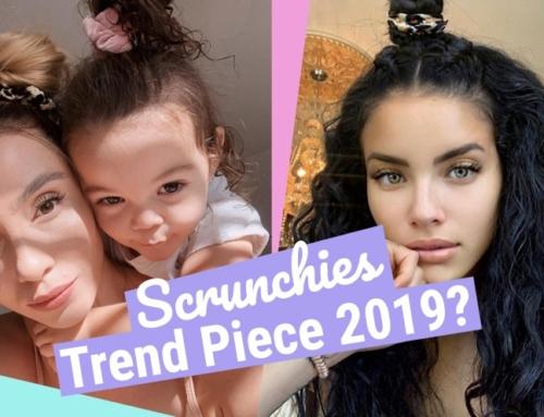 Scrunchies – Modesünde oder der Haartrend 2019?
