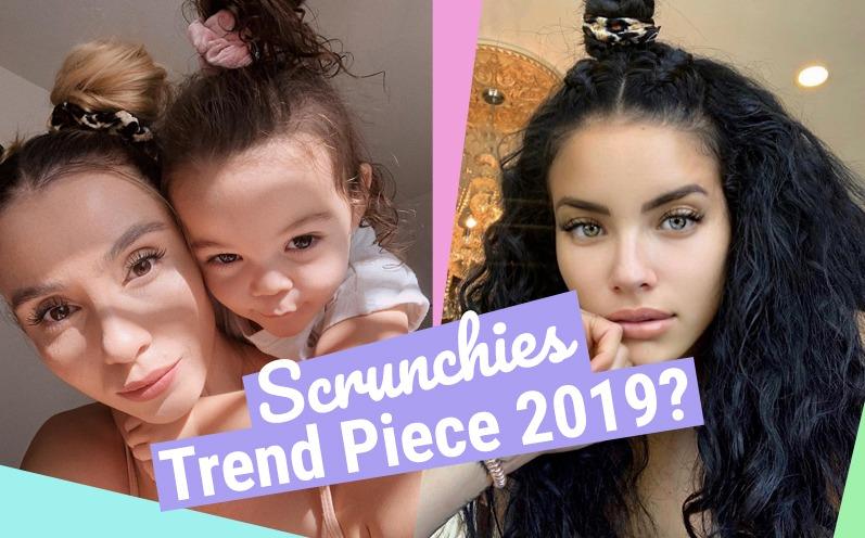 Scrunchies - Modesünde oder der Haartrend 2019?