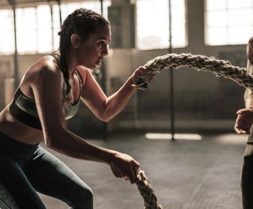 Battle Rope: So geht das Ganzkörperworkout!