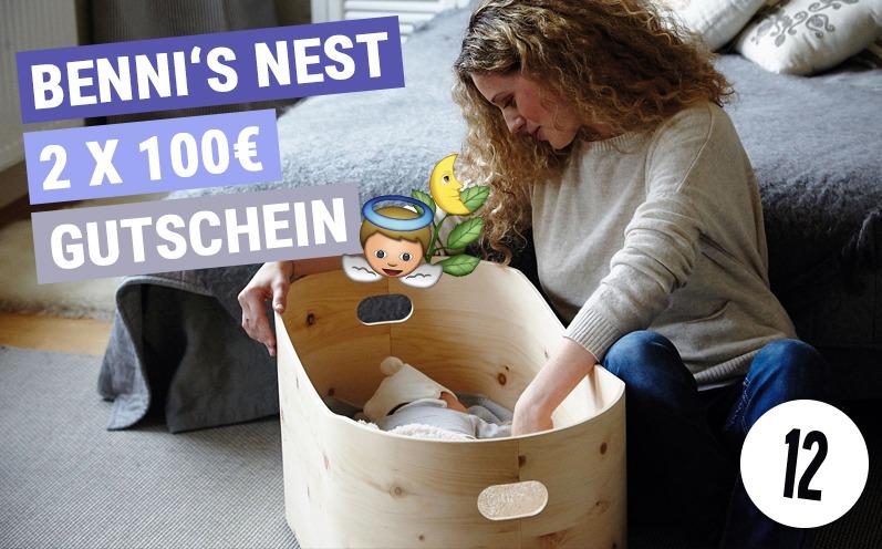 Benni's Nest Gutscheine Adventskalender 12
