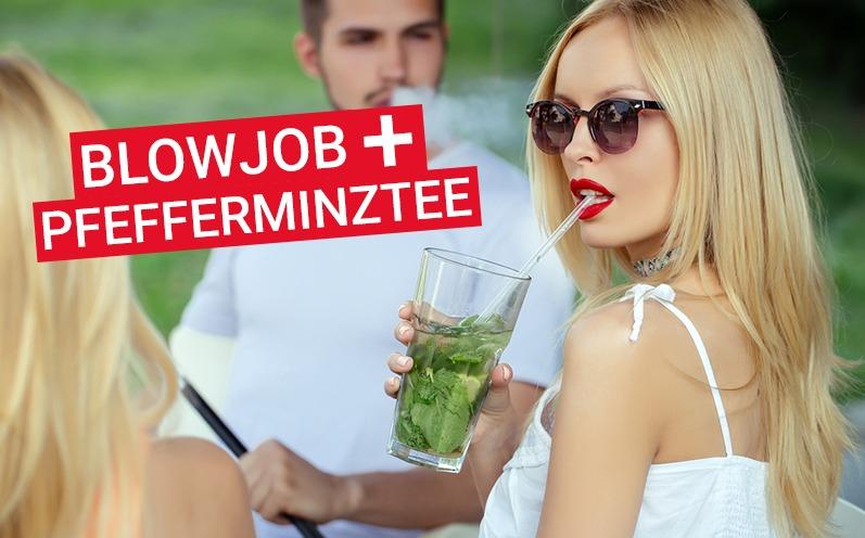 Blowjob und Pfefferminztee? Wir klären diesen verrückten Trend auf!