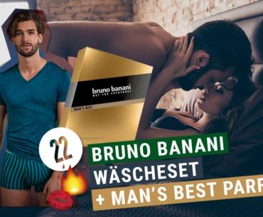 Bruno Banani Wäscheset + Men's Best Parfum