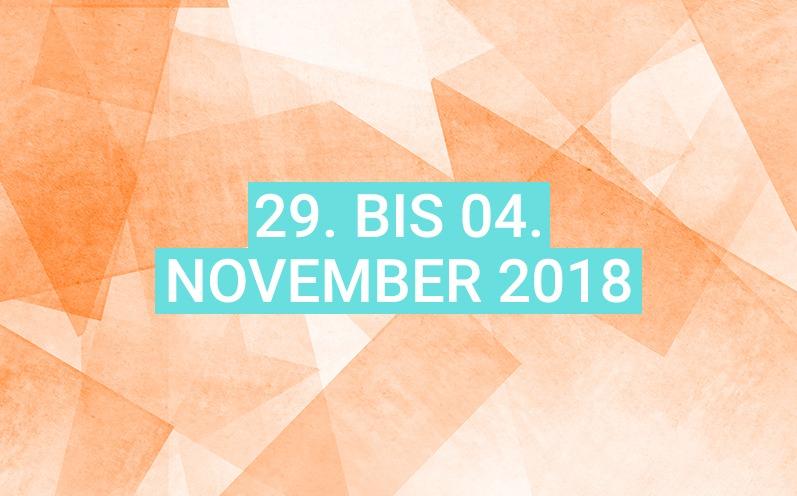 Dein Wochenhoroskop: 29. bis 04. November 2018