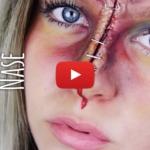 DIY: Halloween Wunden schminken