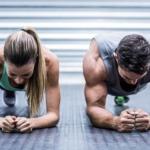 Fitnessübungen gegen Winterspeck