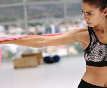 Fitnessband Übungen: Training mit dem terraband!