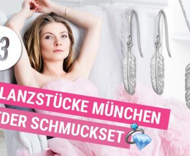Glanzstücke München Feder Schmuckset Adventskalender 23