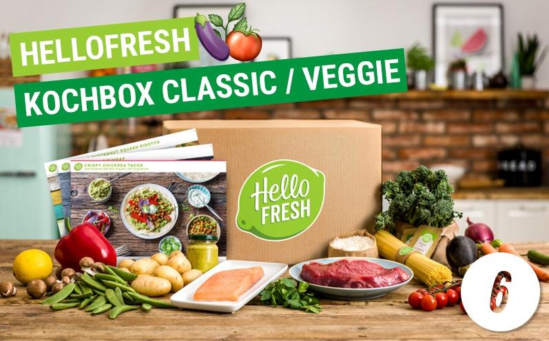 Adventskalender Türchen 6 – Hello Fresh Kochbox