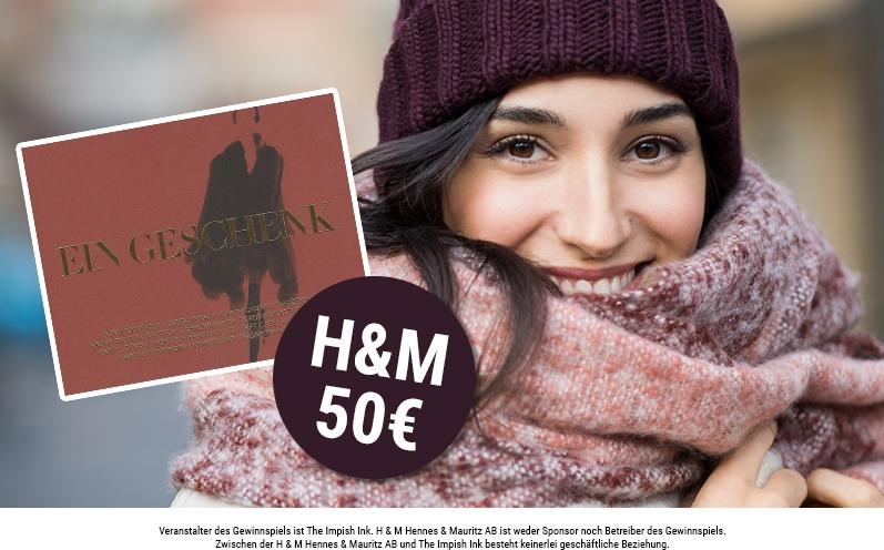 H&M Winteredition - Geschenkkarte im Wert von 50 €