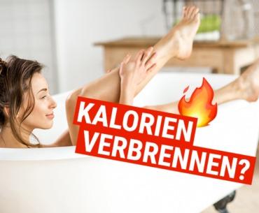 Wie Du Kalorien beim baden verbrennen kannst!