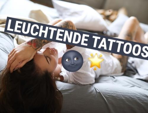 Top oder Flop? Leuchtende Tattoos im Dunkeln