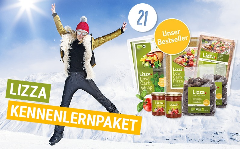 Lizza Kennenlernpaket Adventskalender 21