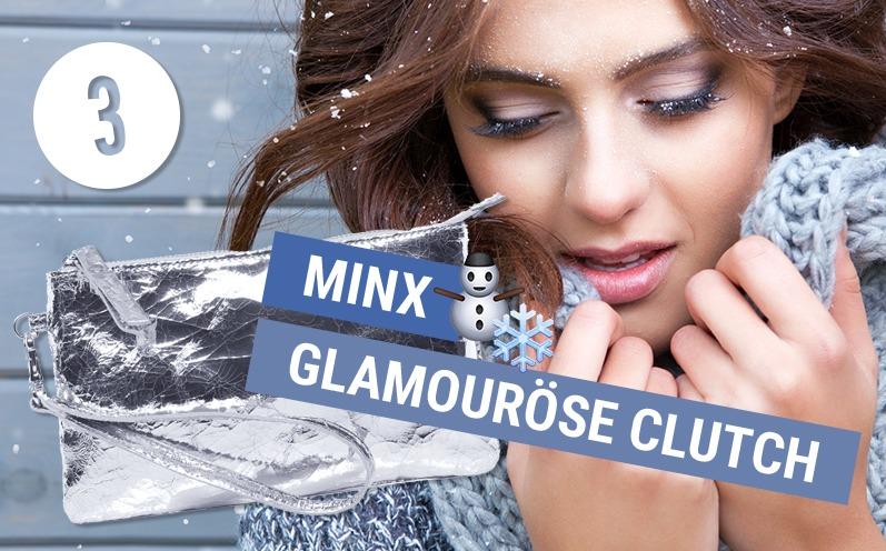 Minx Clutch Silber by Eva Lutz Tasche Ralto 901 Silber Adventskalender 03