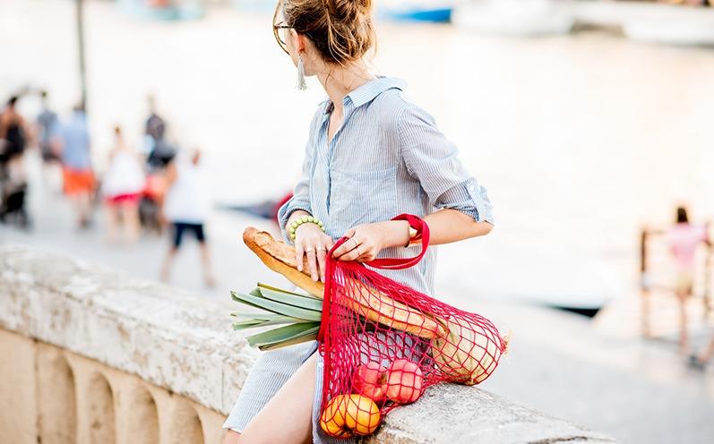 Netztaschen sind der nächste Sommer-Trend