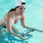 Poolbiking: Der neue Aqua-Fitnesstrend!