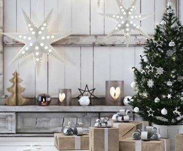 Raumdekoration für Weihnachten