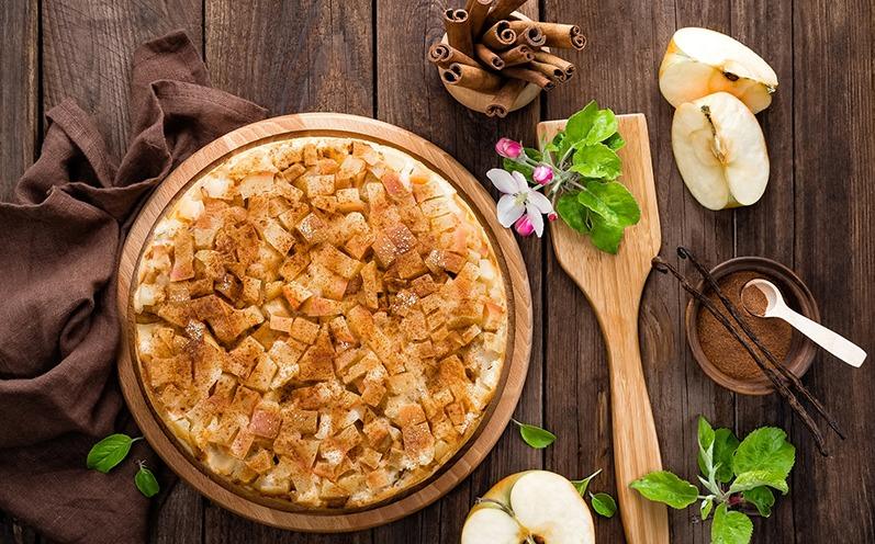 Saftiger Apfelkuchen zum Tag des Apfelkuchens