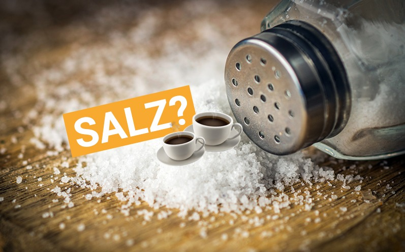 Warum Du Salz in Deinen Kaffee schütten solltest!