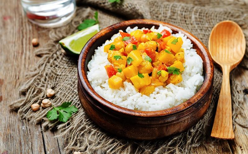 Schnelles Süßkartoffel Curry ohne Fleisch
