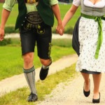 Traditionelle Tracht in Bayern