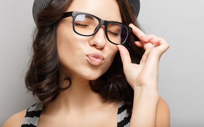 Trend-Accessoire Brille
