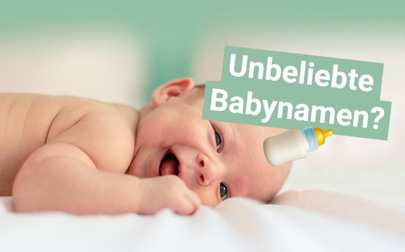 Unbeliebte Babynamen? Wir haben sie gefunden!