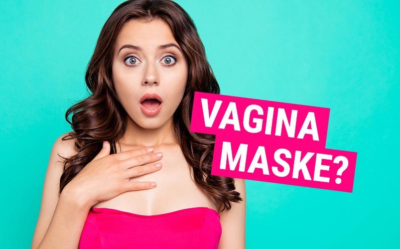 What? Es gibt eine Vagina-Maske?