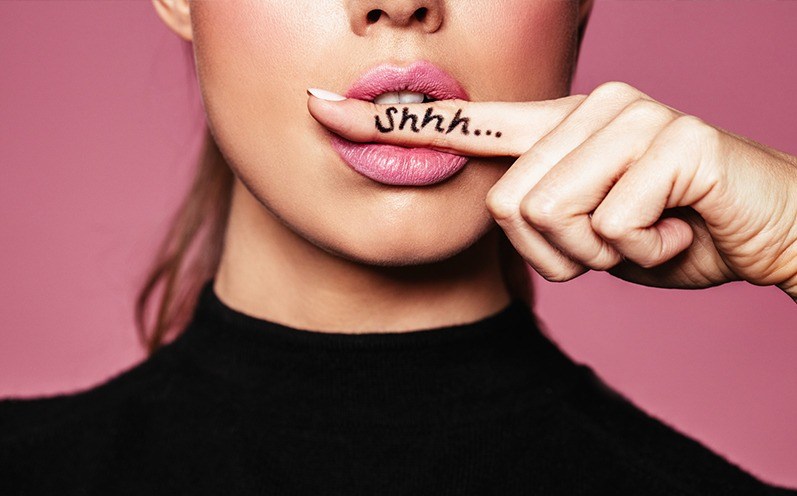 Snogged Lips – verschmierte Lippen sind jetzt Trend