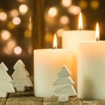 Weihnachtskerzen: Ein Zuhause zum Wohlfühlen