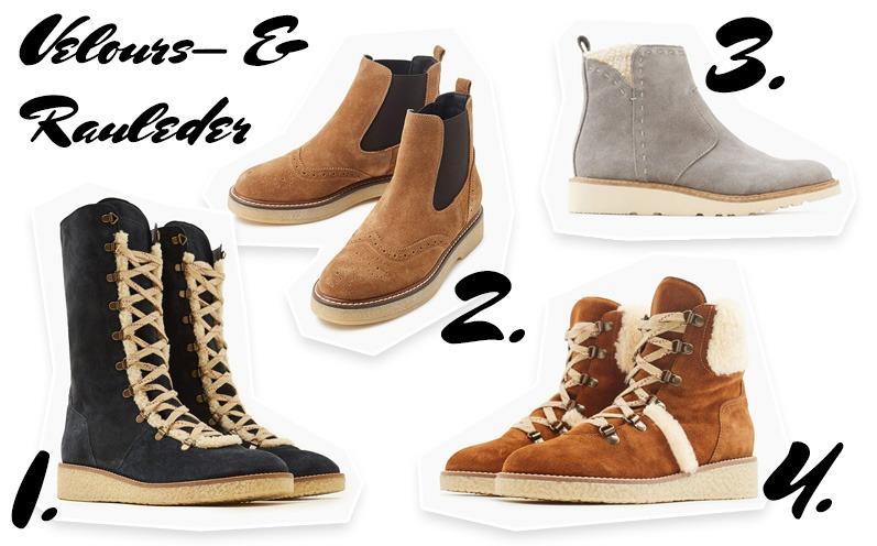 reputable site 703e9 60788 Winterschuhe: Diese Trends halten warm! - Fashion   The ...