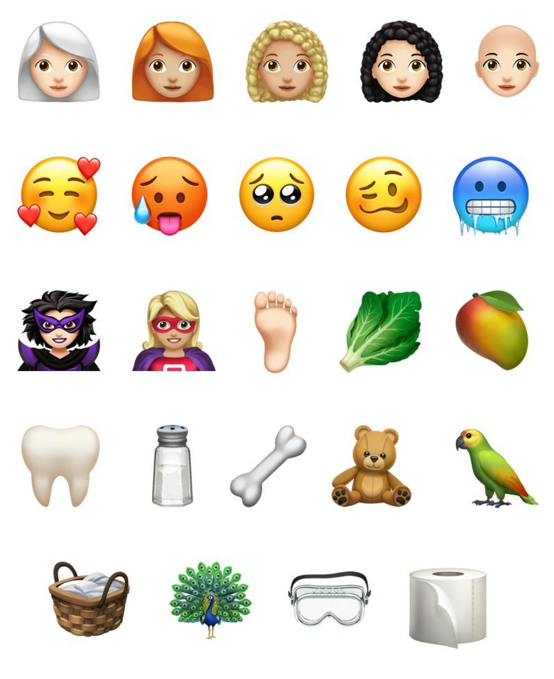 Neue Emojis Ios 2021