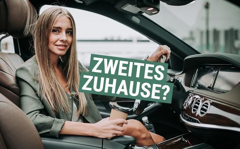 Ist Dein Auto Dein zweites zu Hause?