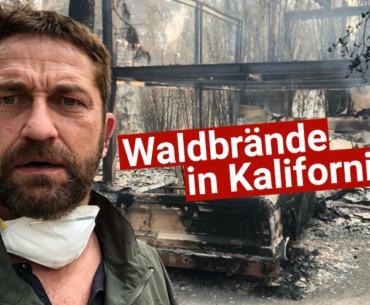 Nach Waldbrand: Gerard Butler zeigt verbranntes Haus