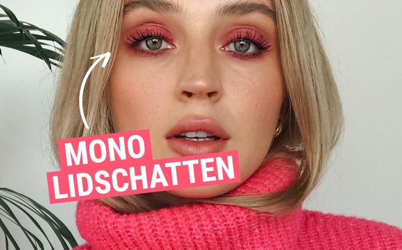 Instagram Beauty Trend: Mono Lidschatten