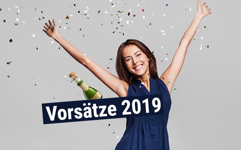 5 sinnvolle Vorsätze für das Jahr 2019