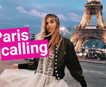 Influencerin Xenia Andonts zieht nach Paris