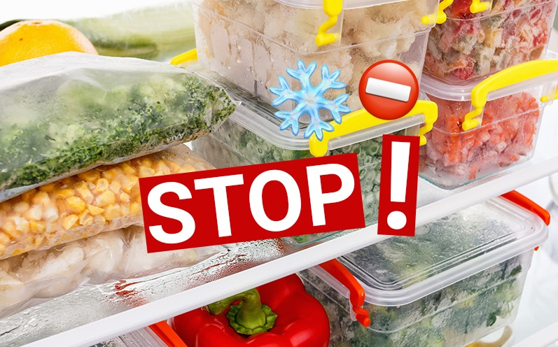 Diese Lebensmittel solltest Du niemals einfrieren