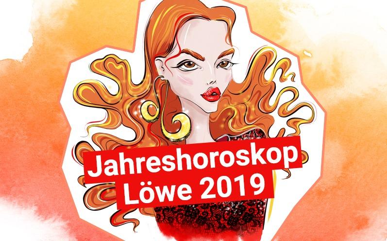 Jahreshoroskop Löwe 2019