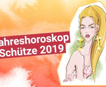 Jahreshoroskop Schütze 2019