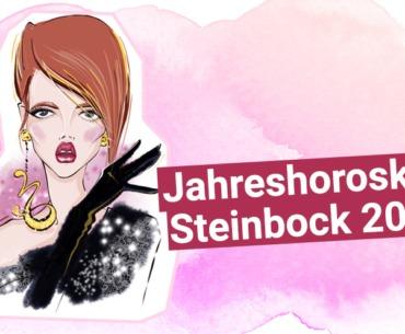 Jahreshoroskop Steinbock 2019