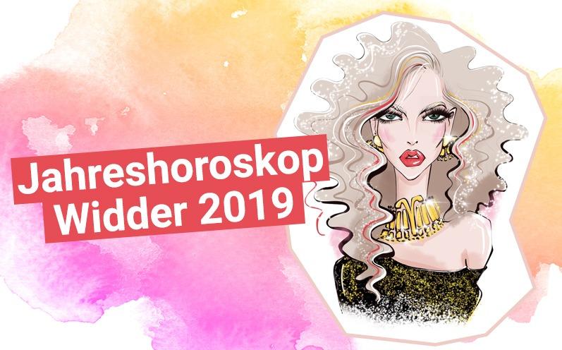 Jahreshoroskop Widder 2019