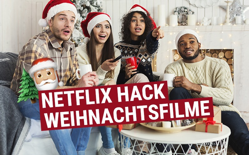 Netflix-Hack für versteckte Weihnachtsfilme