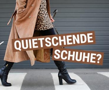 Quietschende Schuhe – Das hilft gegen das lästige Geräusch